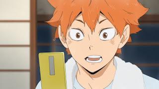 ハイキュー!! アニメ OVA ボールの道 音駒高校 研磨 日向翔陽 Haikyuu Hinata Shoyo   Hello Anime !