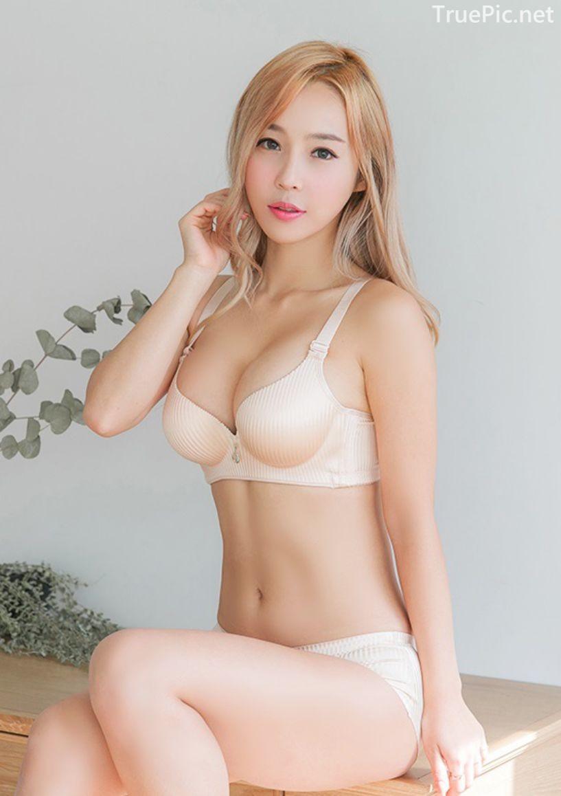 Korean fashion model - Lee Ji Na - The Push Up Lingerie - TruePic.net- Picture 1