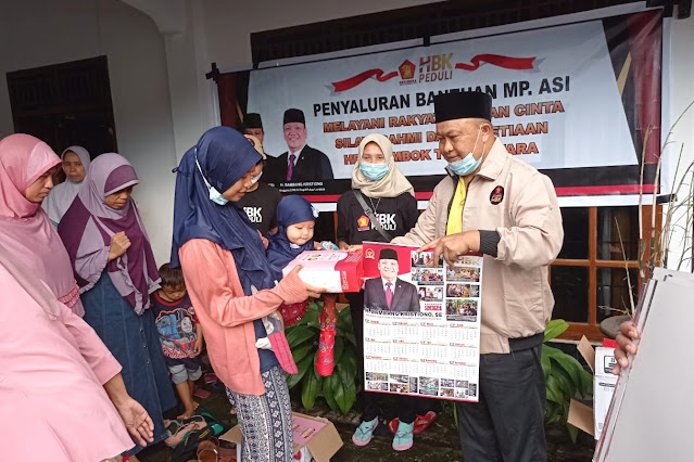 HBK salurkan 1 ton MP ASI untuk balita di Pulau Lombok