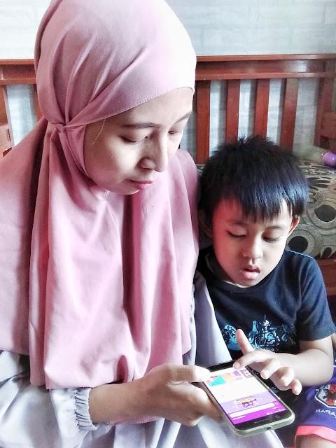 mengenalkan fitur ZenCore ke anak untuk melatih kecerdasan