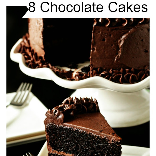 8 Chocolate Cakes For The Holidays