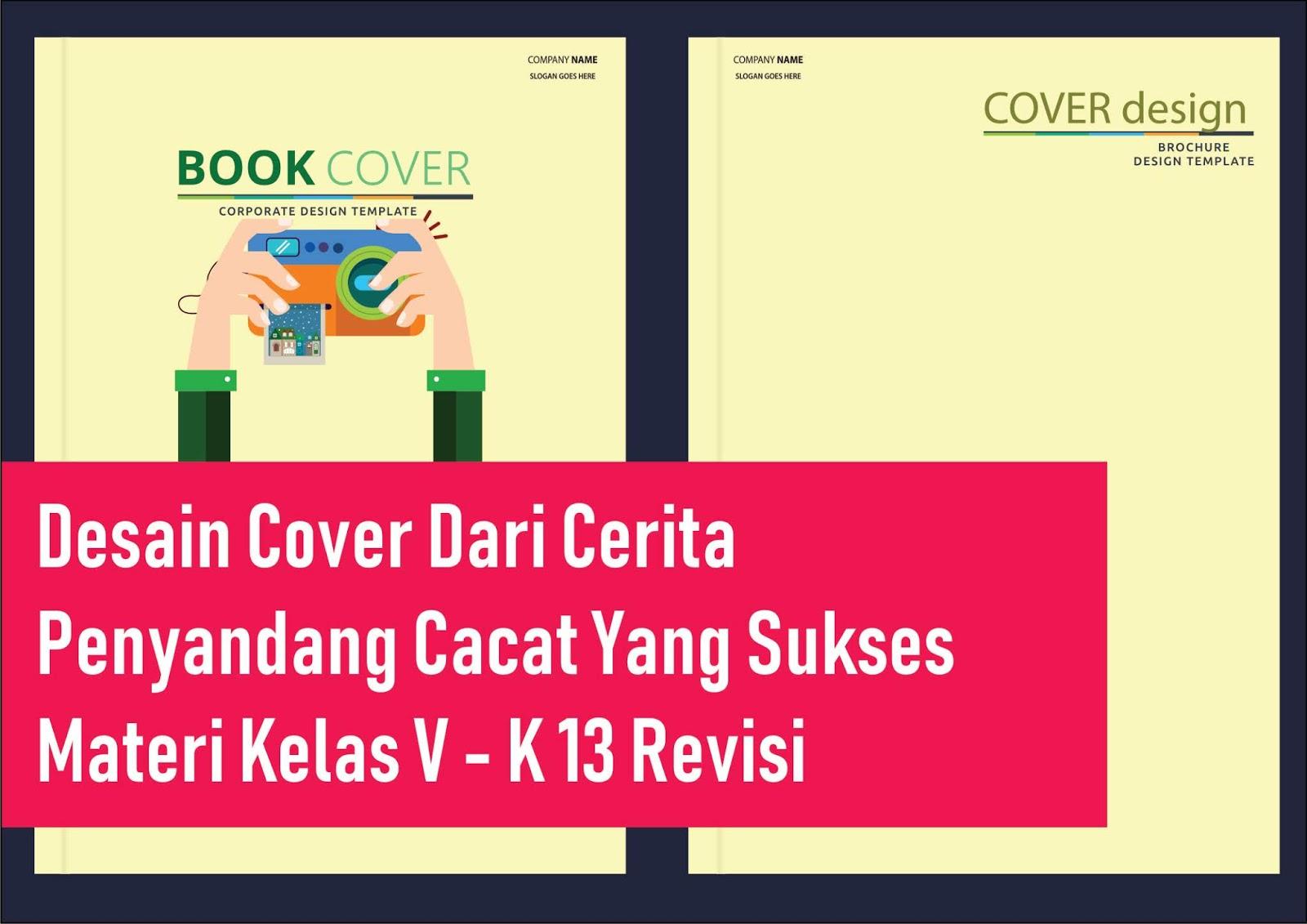 √Berkreasi Membuat Cover Buku Dari Cerita Penyandang Cacat