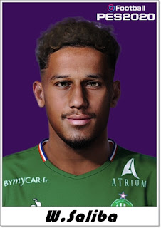 PES 2020 William Saliba Face by Shaft