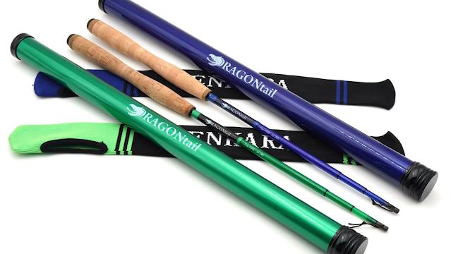 DRAGONtail - FoxFIRE Fiberglass Short Tenkara Rods Kickstarter