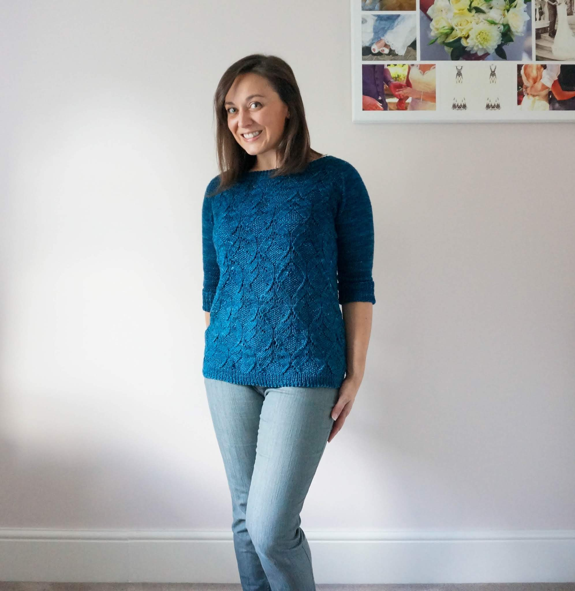 Poet sweater knitting pattern review