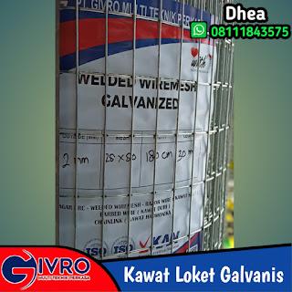 Pabrik Kawat Loket Galvanis