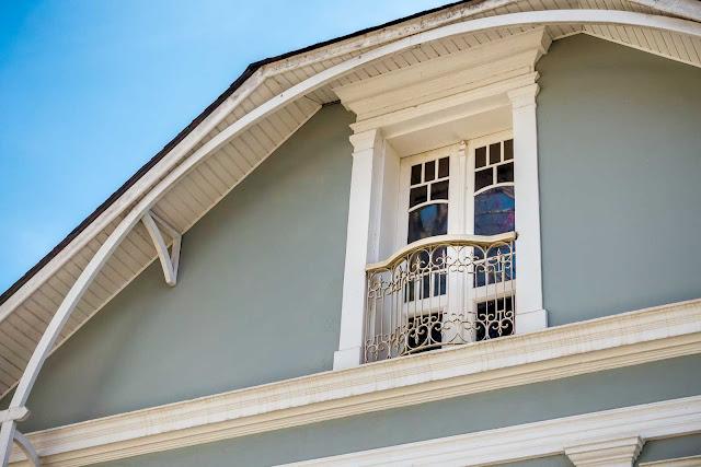 Esta casa na Rua Comendador Araújo é uma Unidade de Interesse de Preservação - detalhe