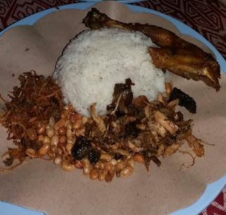 nasi balap puyung, kuliner khas lombok