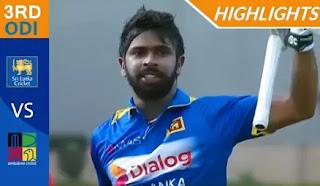 Cricket Highlights - Sri Lanka vs Zimbabwe 3rd ODI 2017