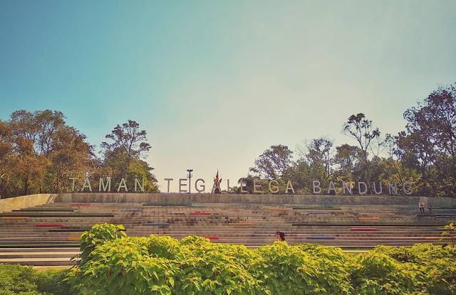 Taman Tegallega Bandung : Taman Tegalega