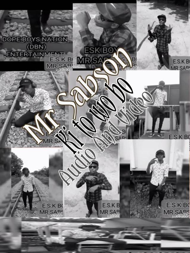 Video:-Mr Sabson-Ki_toh_wo_bo-viral-video