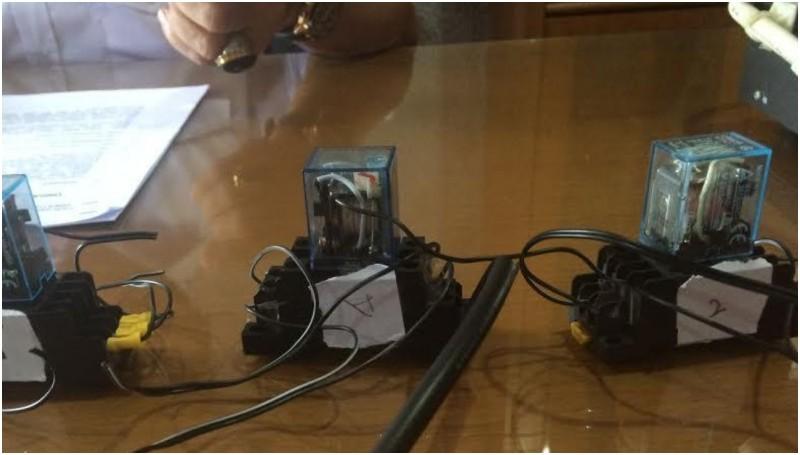 Penampakan alat yang digunakan oleh SPBU Ciputat