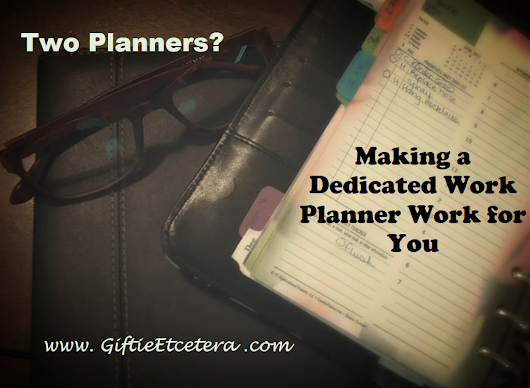 How to Keep Separate Personal and Work Planners Without Getting Overwhelmed