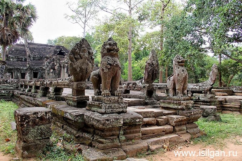Hram-Bantej-Kdej-Prasat-Banteay-Kdei-Kambodzha-Cambodia-Siem-Reap-Angkor