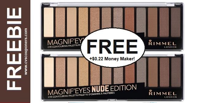 FREE Rimmel Magnif'eyes Eyeshadow CVS Deal 922-928