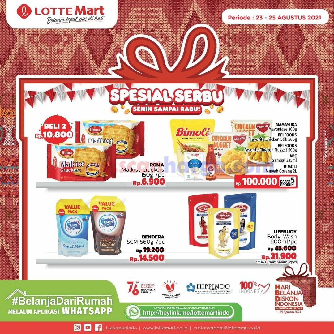Promo Lottemart Weekday - Katalog Belanja Spesial SERBU (Senin - Rabu) 4