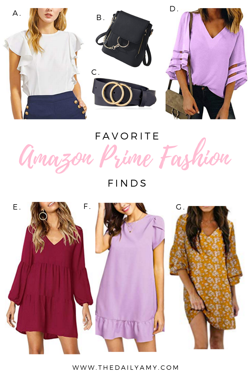 Favorite Amazon Prime Fashion Finds