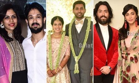 Stars who dazzled Aadhav Kannadasan's Wedding Reception!Shruti Haasan | kiki vijay | HarishKalyan