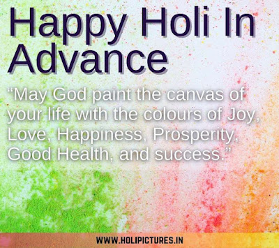 happy Holi wishes in advance images