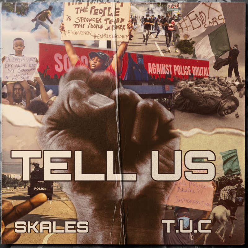 "Skales – ""Tell Us"" (Prod. by T.U.C) #Arewapublisize"