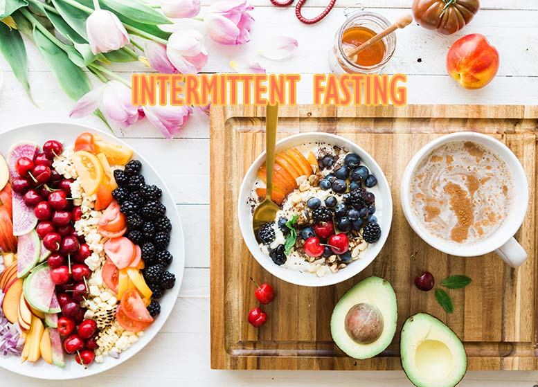 Picture showing healthy food used in intermittent fasting