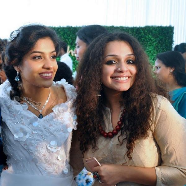 Ann Augustine latest photos from Archana Kavi wedding reception