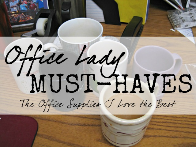 office supplies lady must haves required desk