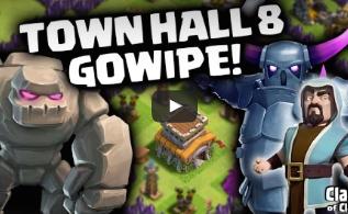 Cara Attack Pake Gowipe di TH8