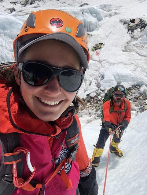 Arianit and Mrika Nikqi, first Albanians reaching Everest
