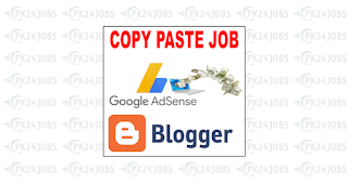 Copy paste Work on Google AdSense and Blogger Without Investment