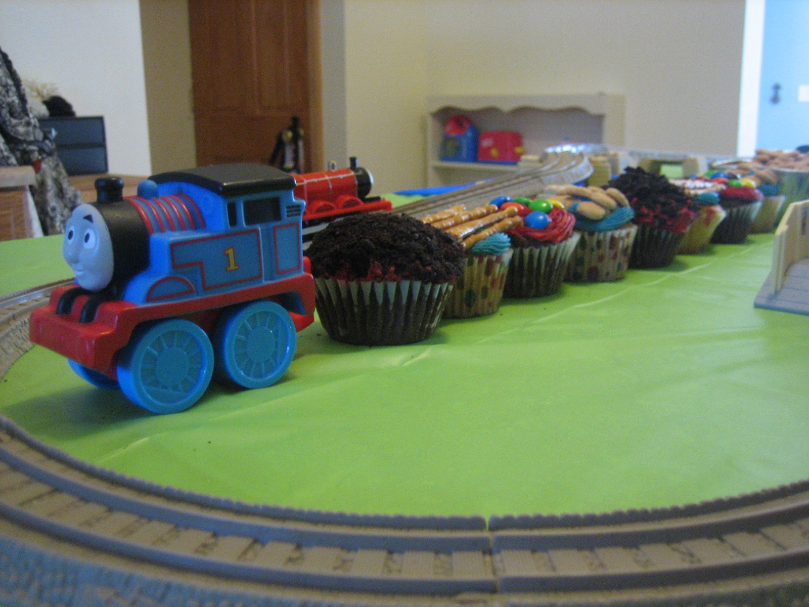 Thomas The Train Birthday Party For My Boys