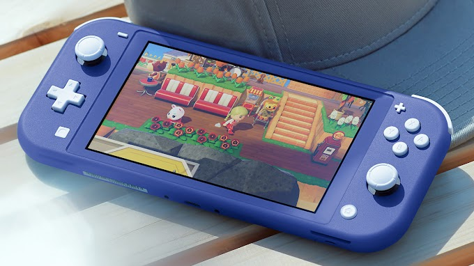 Sorteio de um Nintendo Switch Lite Azul