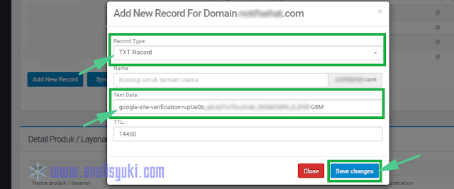 Cara Verifikasi DNS Google Search Console di Niagahoster