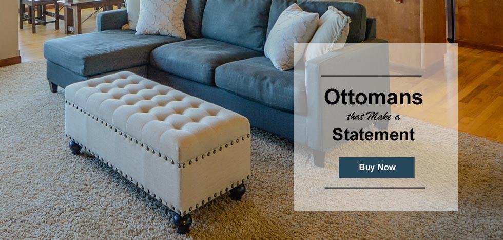 Buy Handcrafted Ottomans Online in Port Harcourt, Nigeria