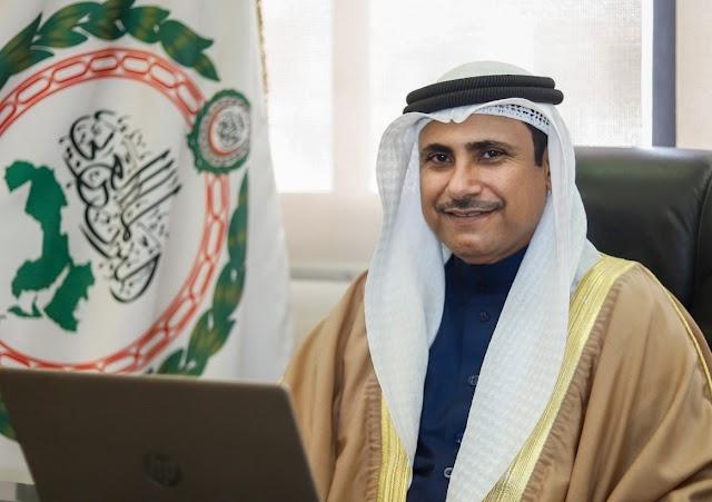 رئيس البرلمان العربي يُهنئ قيادة وشعب دولة الكويت بالعيد الوطني الـ 60 والذكرى الـ 30 للتحرير