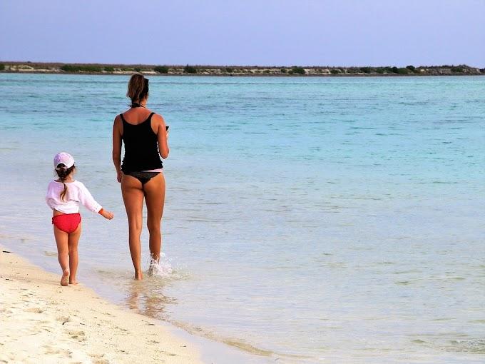 Viajar con niños a la playa