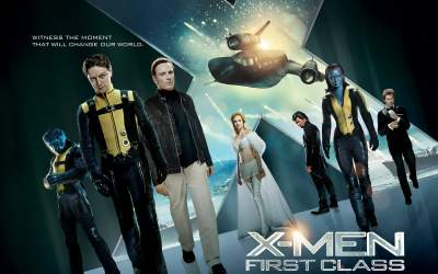 X-Men 5 First Class 2011 Hindi + English + Telugu + Tamil Movies Download