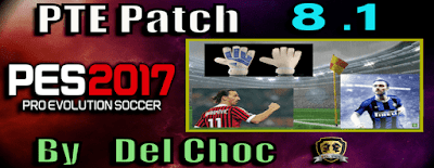 PES 2017 PTE Patch 2017 Unofficial Update 8.1 Season 2019/2020
