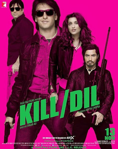 Kill Dil (2014) Movie Poster No. 1