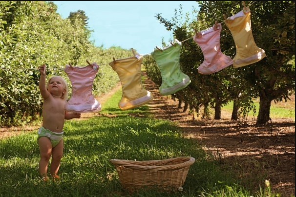 Tips Mencuci Popok Kain yang Benar dan Aman Untuk Kulit Bayi