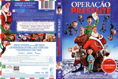 Filme Operação Presente (Arthur Christmas) DVD Capa