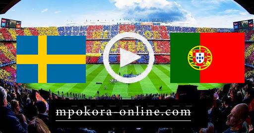 نتيحة مباراة البرتغال والسويد بث مباشر كورة اون لاين 14-10-2020 دوري الأمم الأوروبية