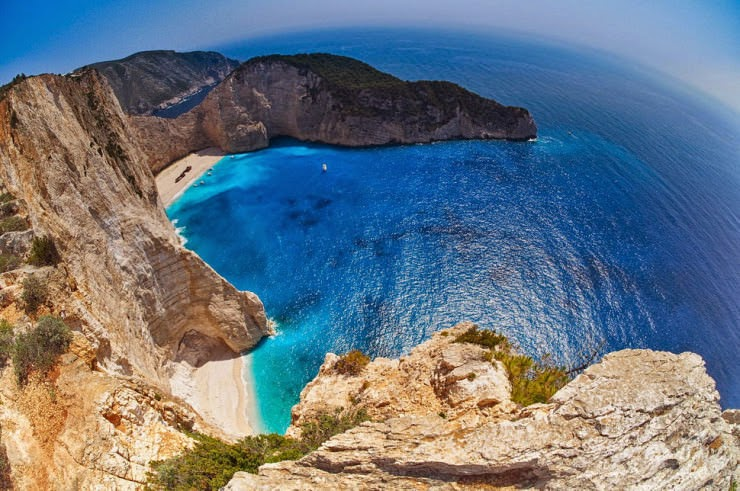 9. Navagio Beach, Zakynthos, Hellas (Greece) - Top 10 Mediterranean Destinations