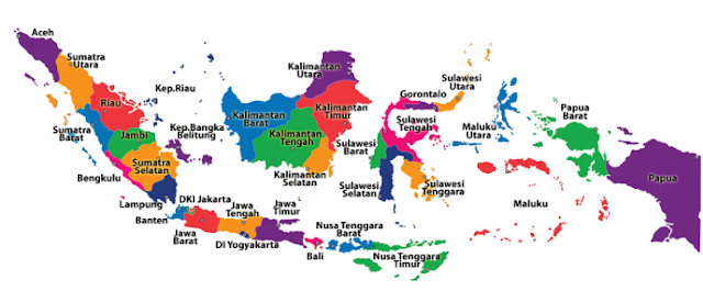 peta wilayah indonesia www.simplenews.me