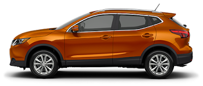 Nissan Rogue orange