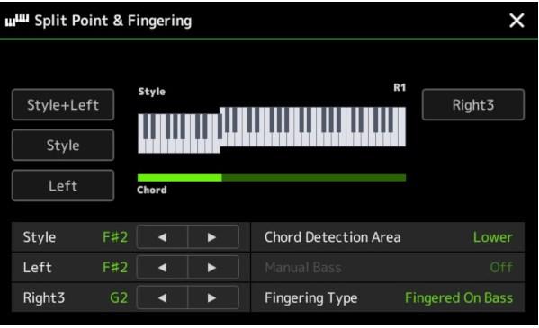 Cara Mengatur Split Point Pada Keyboard Yamaha PSR-SX900