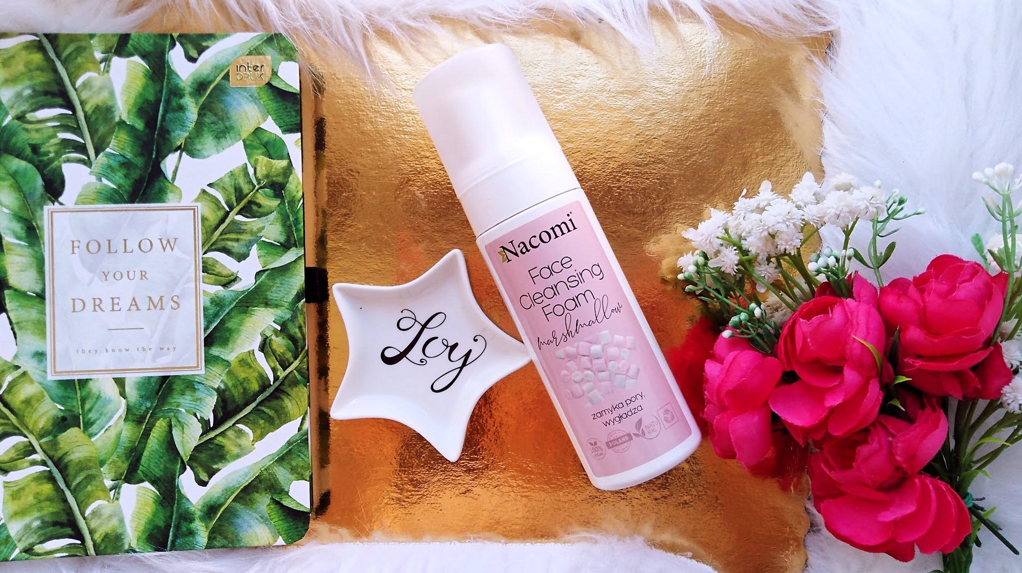 najlepsze produkty do mycia twarzy bez sls, pianki do mycia twarzy nacomi blog kosmetyczny