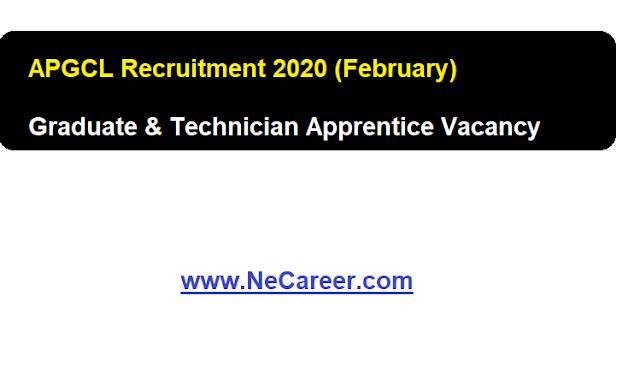 apcgl jobs feb 2020