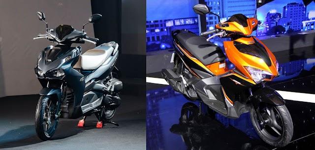 So sánh Honda Air Blade 2020 và 2019