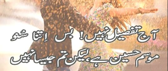 aj tafseel nahi busa itna Urdu Quotes